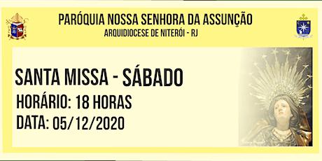 PNSASSUNÇÃO CABO FRIO - SANTA MISSA - SÁBADO - 18 HORAS - 05/12/2020 ingressos