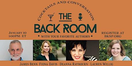 James Benn, Fiona Davis, Deanna Raybourn, and Lauren Willig Tickets
