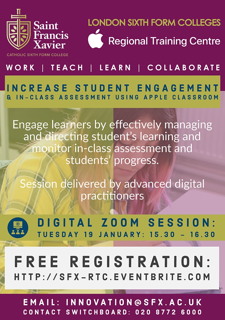 Increase Student Engagement and In-Class Assessment using Apple Classroom image