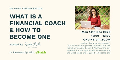 What is a Financial Coach & How To Become One tickets