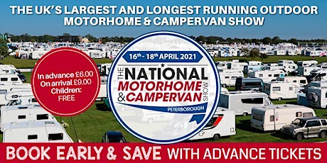The National Motorhome & Campervan Show tickets