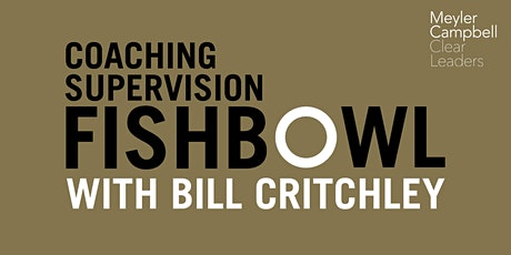 Group Supervision Coaching Fishbowl with Bill Critchley tickets