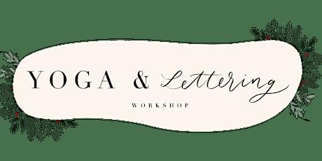 Yoga &  Lettering Workshop Tickets