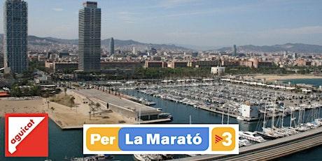 Visita guiada/Marató de TV3: A ras de mar superando epidemias-castellano-B entradas