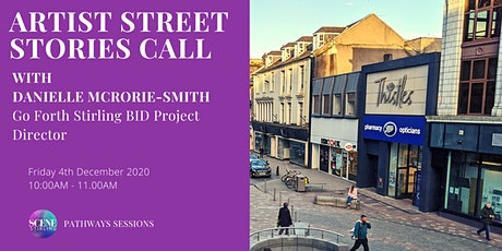 Pathways Session: Artist Street Stories Call with Danielle McRorie-Smith tickets