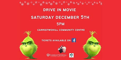 The Grinch - Drive in Christmas Movie tickets