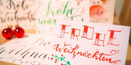 Weihnachts-Lettering Workshop (Online per Zoom) tickets