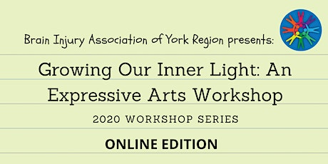 Growing Our Inner Light: An Expressive Arts Workshop - 2020 BIAYR (Online) tickets