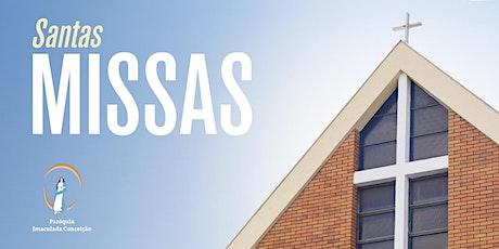 Santa Missa Presencial - TRÍDUO IMACULADA CONCEIÇÃO ingressos