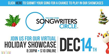 New York Songwriter's Circle Holiday Showcase tickets