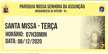 PNSASSUNÇÃO CABO FRIO - MISSA DA IMACULADA CONCEIÇÃO - 7H30MIN - 08/12/2020 ingressos