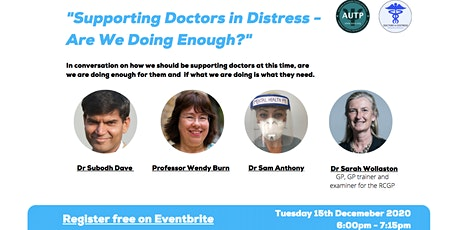 Supporting Doctors in Distress Are we Doing Enough tickets