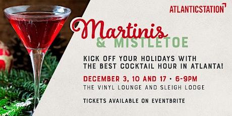 Martinis & Mistletoe tickets