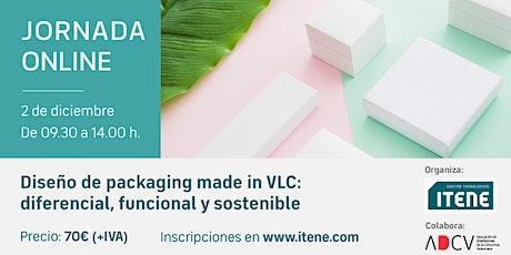 Jornada online -  Diseño de packaging made in VLC entradas