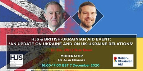An Update on Ukraine and on UK-Ukraine Relations tickets
