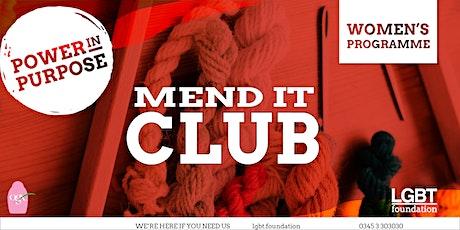 Mend it Club December tickets
