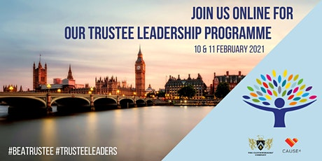 Trustee Leadership Programme - Virtual tickets