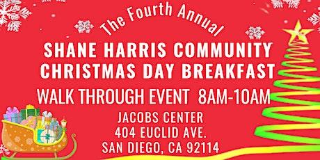 Shane Harris Community Christmas Day Breakfast 2020 (Walk Through Event) tickets