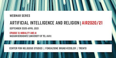 Artificial Intelligence and Religion – AIR2020/21, tenth episode biglietti