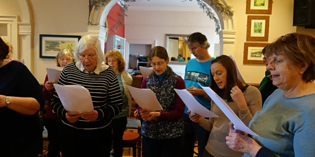 Voucher for a French singing workshop (online or in person) tickets