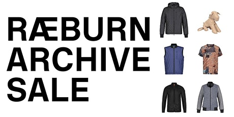 RAEBURN Archive Sale at the RÆBURN Lab, Hackney tickets