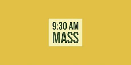 9:30 Mass - December 6, 2020 tickets