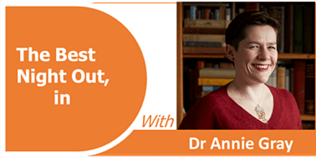 Dr ANNIE GRAY - Reading lives through recipes.  (Talk with extended Q&A) tickets