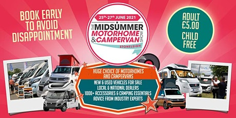 The Midsummer Motorhome & Campervan Show tickets