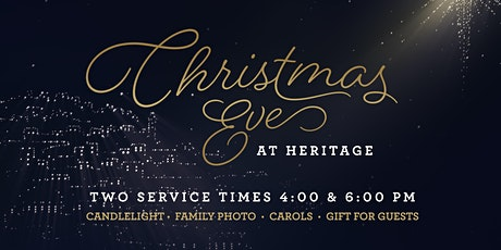 Christmas Eve at Heritage tickets