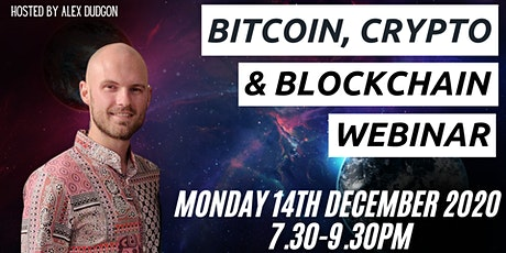 Bitcoin, Cryptocurrency &  Blockchain Webinar tickets