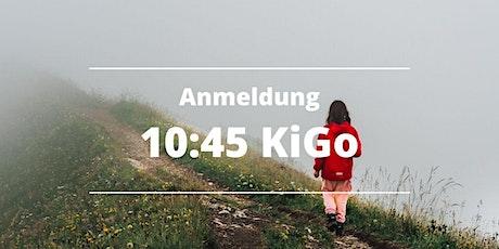 10:45 KiGo (Anmeldung Kinder) Tickets