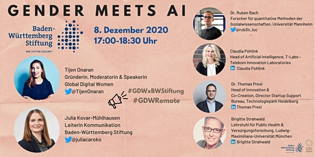 Gender Meets AI | GDW x BW Stiftung Tickets