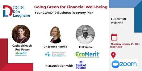 Going Green for Financial Well-being (ft. Cathaoirleach Una Power) tickets