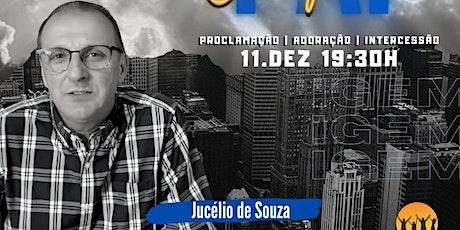 CONFERÊNCIA ORIGEM - JUCÉLIO DE SOUZA - 11 DEZ ingressos