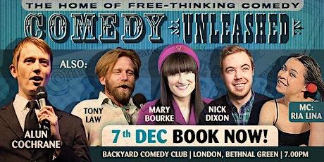 Comedy Unleashed - Alun Cochrane, Mary Bourke, Tony Law, Nick Dixon tickets