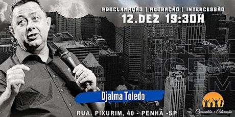 CONFERÊNCIA ORIGEM - DJALMA TOLEDO - 12 DEZ ingressos