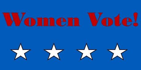 (Virtual) Women Vote! Mon December 7th 2020 tickets