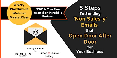 Tell All Webinar - Open Door after Door For Your Business with Cold Email tickets