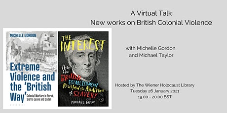 A Virtual Talk: New works on British Colonial Violence tickets