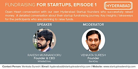 Fundraising for Startups,  Episode 1 tickets