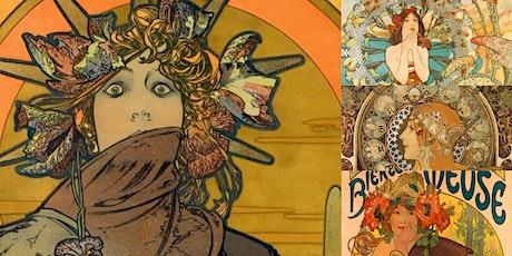 'Alphonse Mucha: The Illustrator Who Changed the Advertising World' Webinar tickets