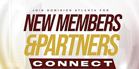 New Members Connect tickets
