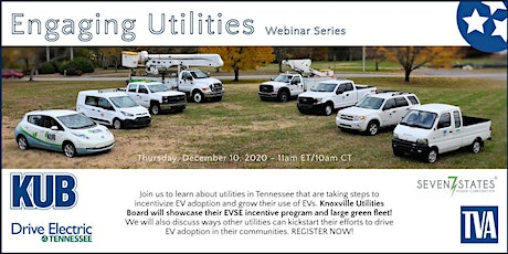 Engaging Utilities Webinar Series tickets