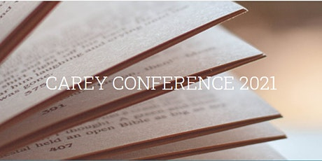 Carey Conference 2021 - The Holy Spirit tickets