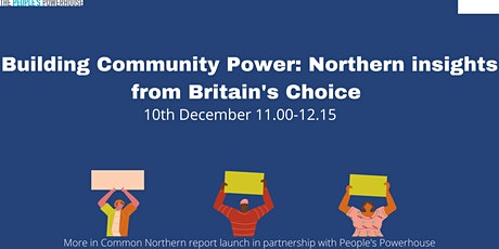 Building Community Power: Northern insights from Britain's Choice tickets