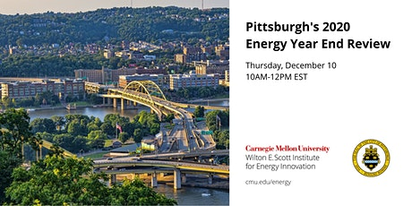 City of Pittsburgh's 2020– 2021 Energy Planning featuring Mayor Bill Peduto tickets