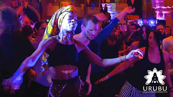 Ecstatic Dance London *ONLINE* Ecstatic Saturdays: Cacao &  Sound Journey image