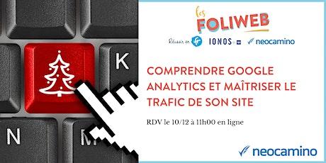 Comprendre Google Analytics et maîtriser le trafic de son site billets