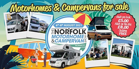 The Norfolk Motorhome & Campervan Show tickets