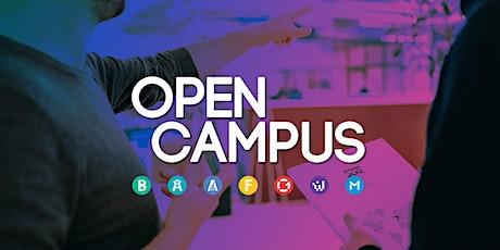 Open Campus - SAE Mediencampus Hamburg Tickets